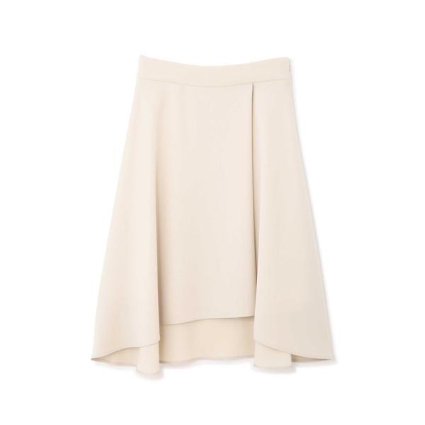 Wサテンスカート