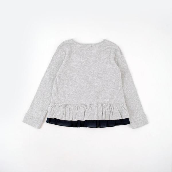 マーガレット&ロゴフリルTシャツ