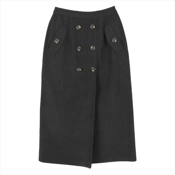 トレンチ風タイトスカート