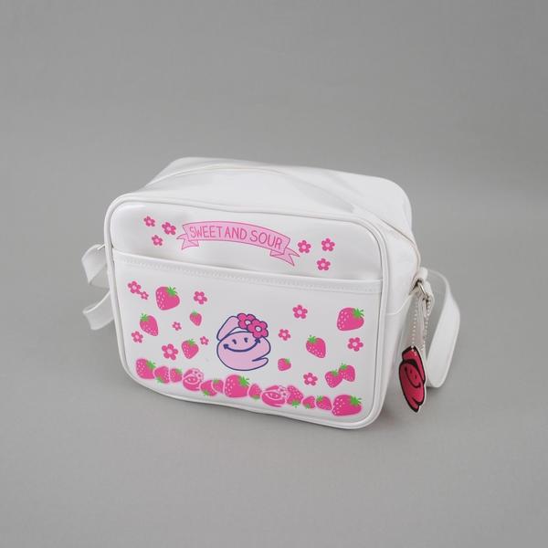 eちゃんイチゴプリント幼稚園バッグ