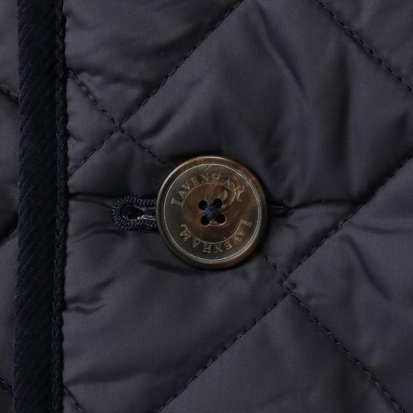 【LAVENHAM】【WEB限定】DENSTON フード付キルティングジャケット メンズ