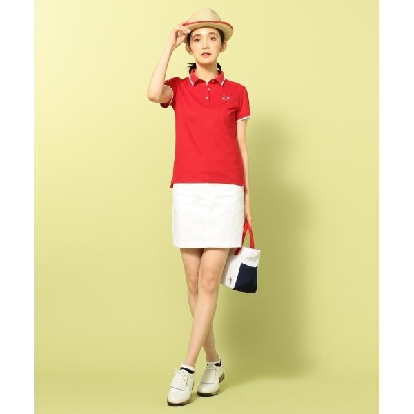 【WOMEN】【UVケア / 吸水速乾】定番ポロシャツ