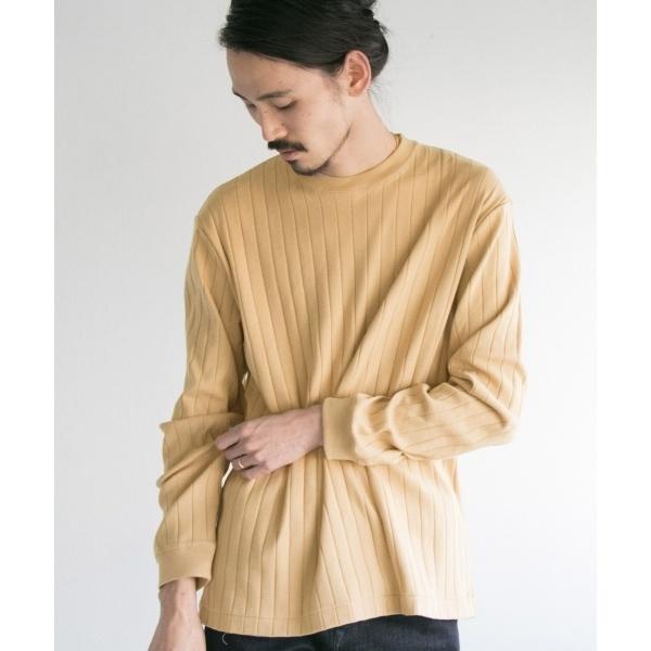 メンズTシャツ(ワイドリブルーズロングスリーブTシャツ)