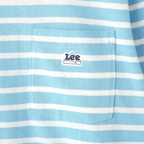 【Lee】ボーダーロングTシャツ メンズ