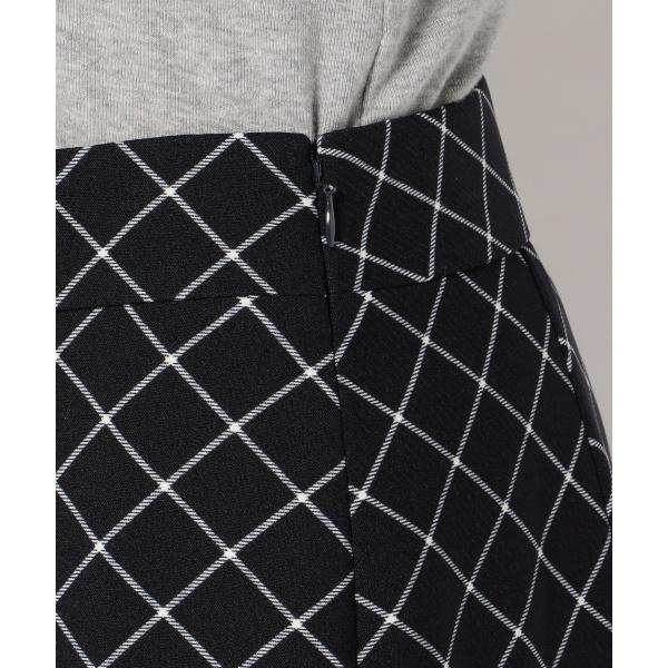 【洗える】タッターソールチェックプリント スカート