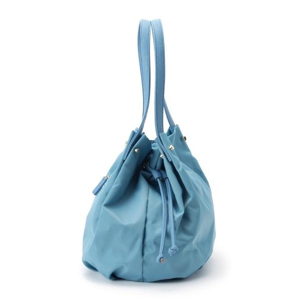 ナイロン巾着トートバッグ