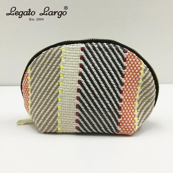 マルイウェブチャネル[マルイ] 【Legato Largo(レガートラルゴ)】織り柄 半月ポーチ/レガートラルゴ(Legato Largo)