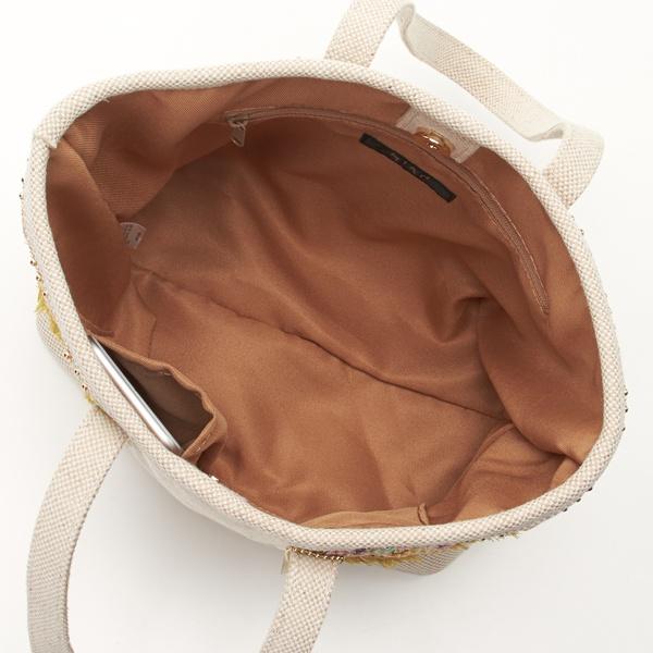 18春夏新作【MIAN】テープ装飾トートバッグ