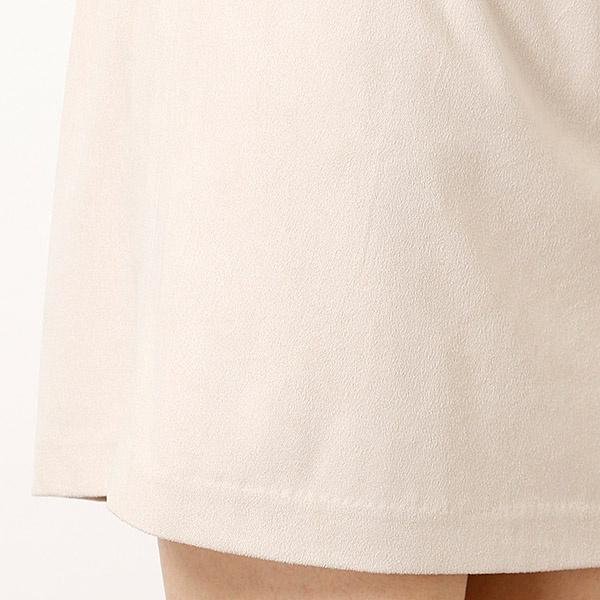 取り外しペプラムタイトスカート