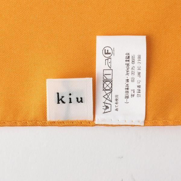 <kiu> ペイズリー スカーフ