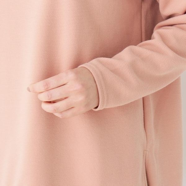 レイヤード裾リップルプルオーバー