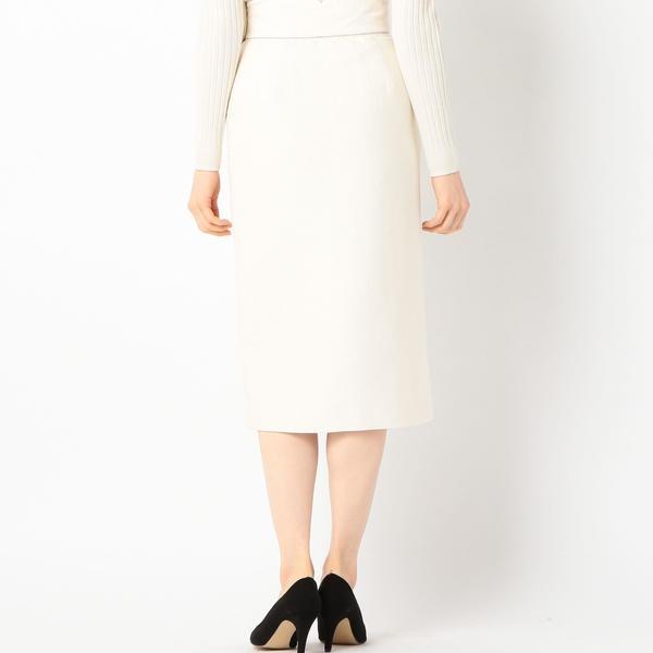 Prefer SHIPS: ソリッドサイドボタンスカート