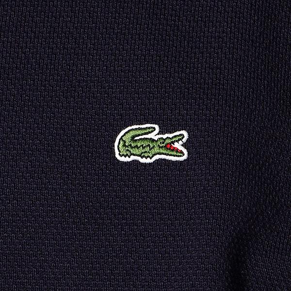 ラコステ コットンピケバスクTシャツ (長袖)