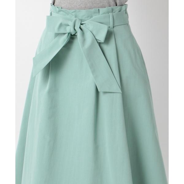 【洗える】フルールカラーボトム スカート