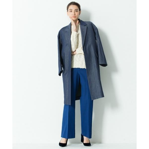 【Class Lounge】TWIST DOUBLE CLOTH パンツ
