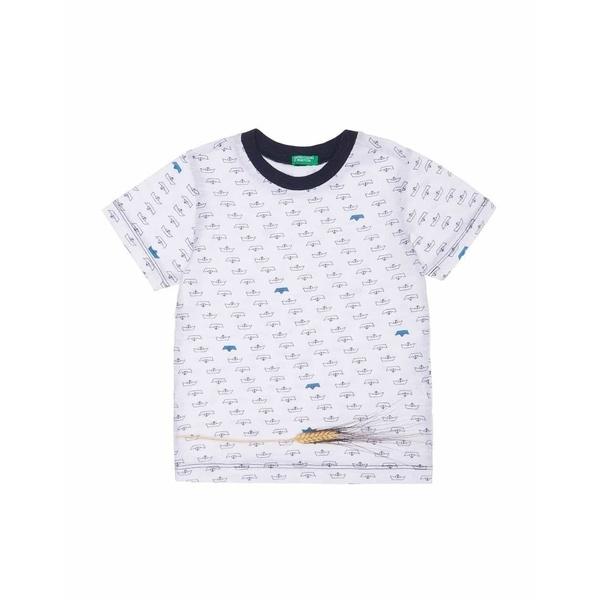 [マルイ]【セール】KIDSパイレーツ総柄Tシャツ・カットソー/ベネトン キッズ(UNITED COLORS OF BENETTON)