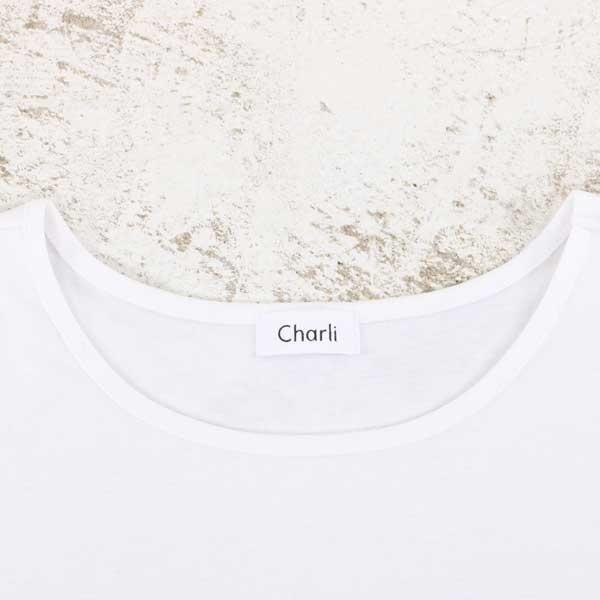 【大きいサイズ】【21号(6L)~】【インポート】『Charli×Rogique』アンサンブルニット