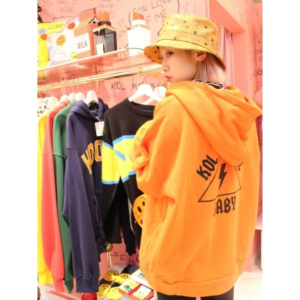 コールミーベイビ(BIG ZIP-UP SWEAT HOODIE)