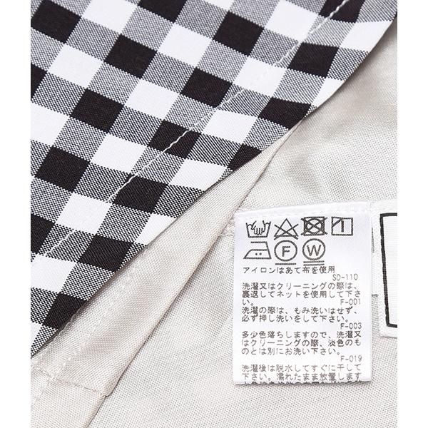 【WEB限定】ギンガムフロントボタンスカート