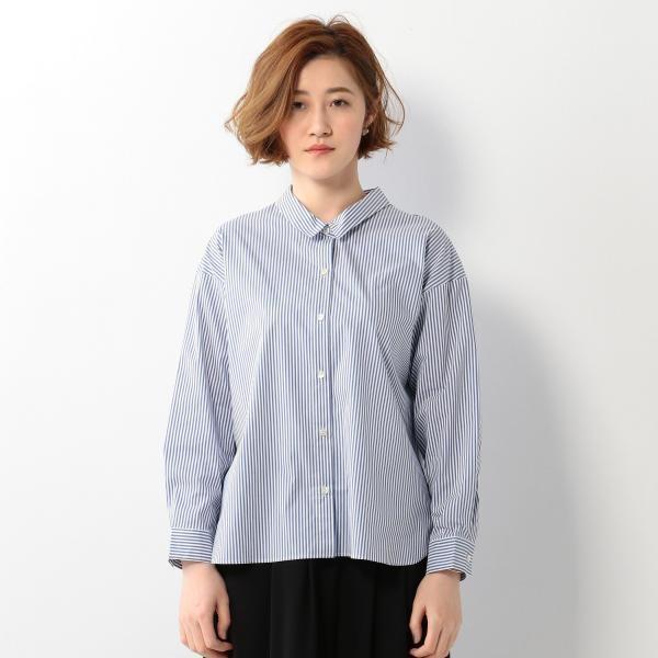<closet story> ムジ/ストライプ ヌケカン シャツ