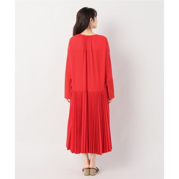 レディスワンピース(【INSCRIRE / アンスクリア】 Air Jersey Pleats Dress◆)