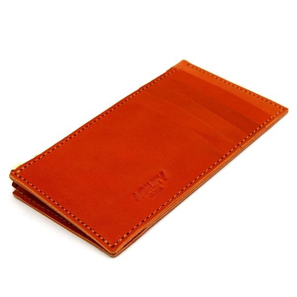 e6188fb70c51 パーティション/栃木ヌメ(レッド)【カードケース 小銭入れ ...