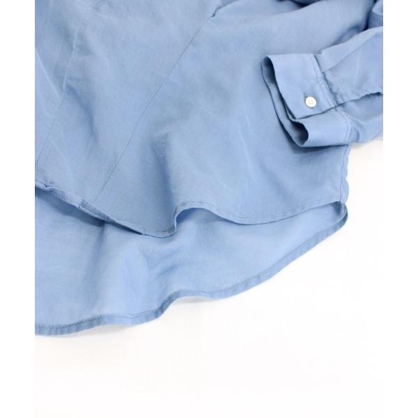 open-neckedスキッパーシャツ