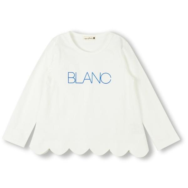 ロゴデザイン長袖Tシャツ