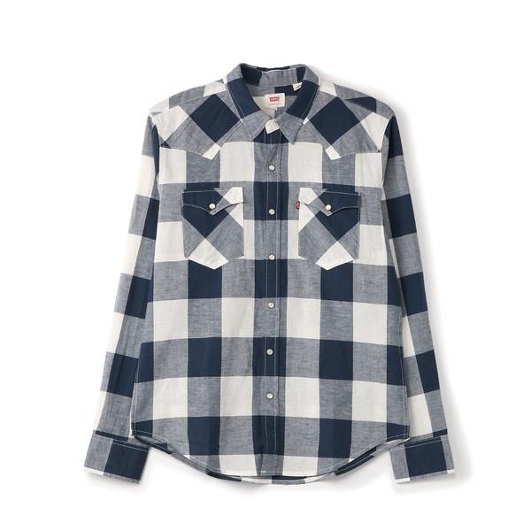 【Levi's】「CLASSIC」クラシックウエスタンシャツ メンズ