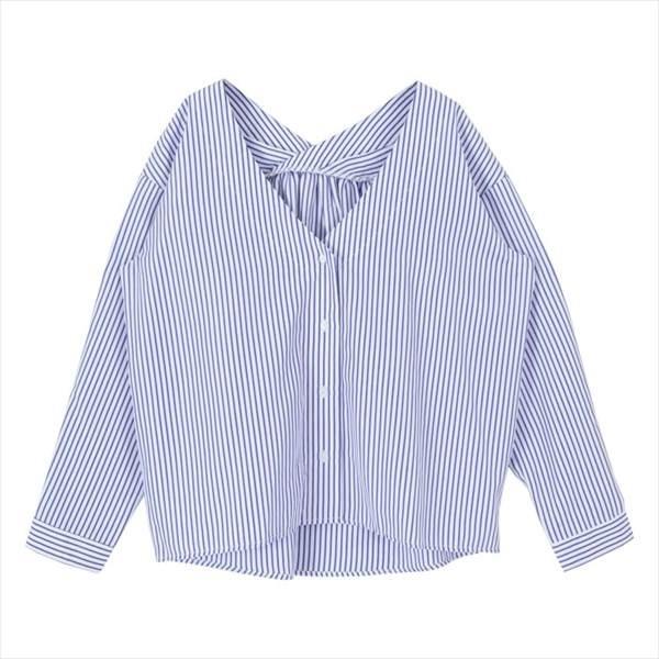 【竹下玲奈着用】抜け襟オーバーサイズシャツ