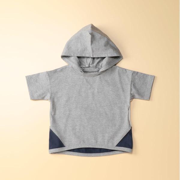 マルイウェブチャネル[マルイ]【セール】フード付き半袖ビッグTシャツ/コムサフォセット(COMME CA FOSSETTE)