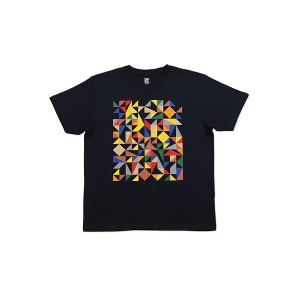 【ユニセックス】ベーシックTシャツ/フォックスインジオメトリックユニセックス