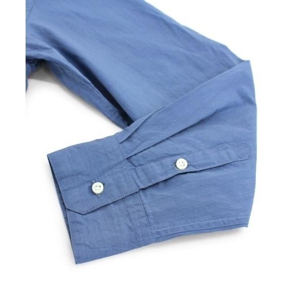 インディゴタイプライターBIGシャツ