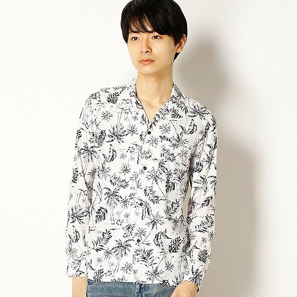 [マルイ] ボタニカルオープンカラーシャツ/シュリセル(SCHLUSSEL)