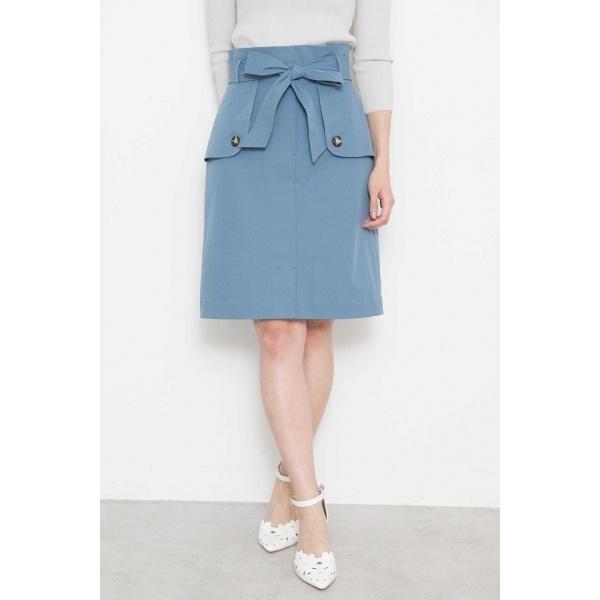 ★WEB限定★トレンチツイルタイトスカート