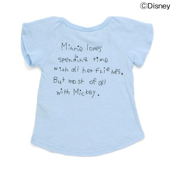 ディズニーミニー半袖Tシャツ