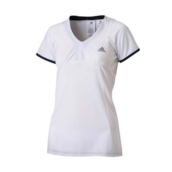 [マルイ]【セール】ラケットスポーツ fleur SS Vネック Tシャツ/アディダス(スポーツオーソリティ)(adidas)