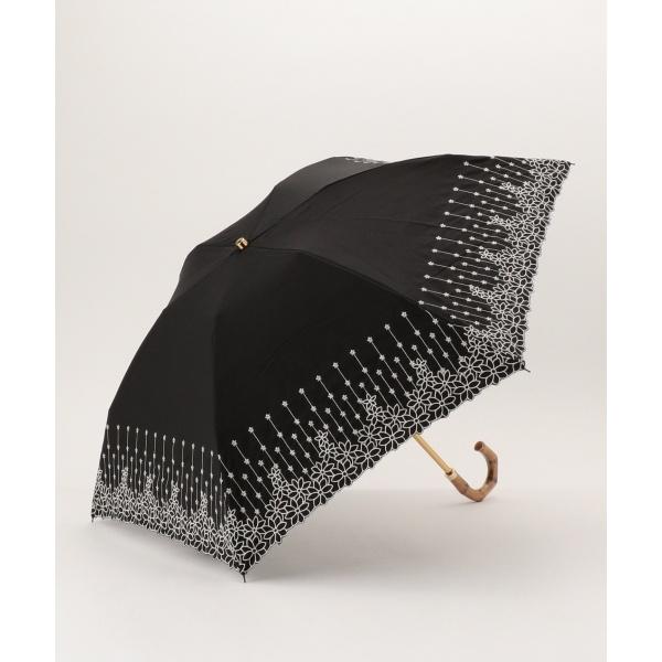 【晴雨兼用】EYELET EMBROIDERY PARASOL 折りたたみ傘
