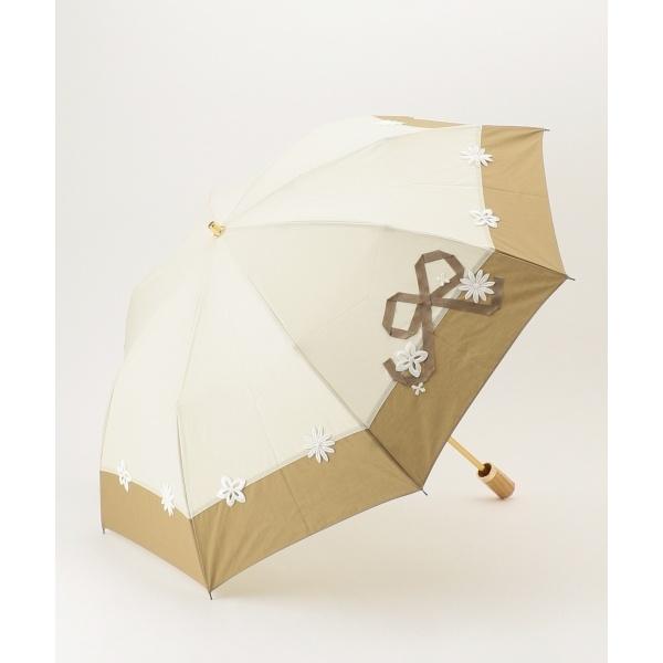 【晴雨兼用】LACE RIBBON PARASOL 折りたたみ傘