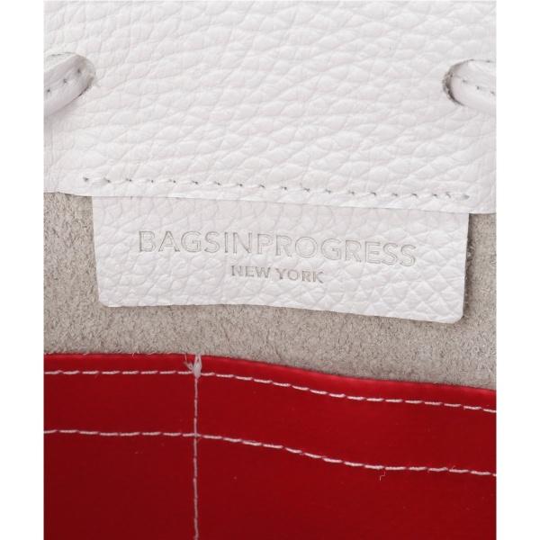 レディスバッグ(【BAGSINPROGRESS/バッグスインプログレス】DRAWSTRING BAG NEW PEBBLE:バッグ)