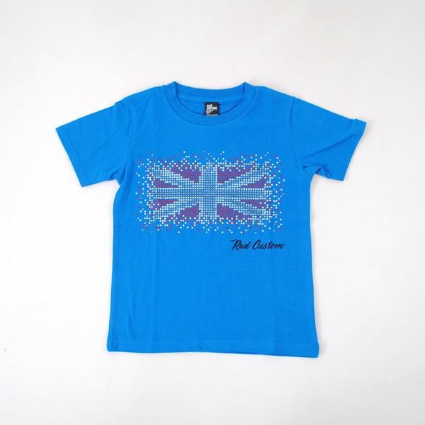 ラインストーンロックTシャツ