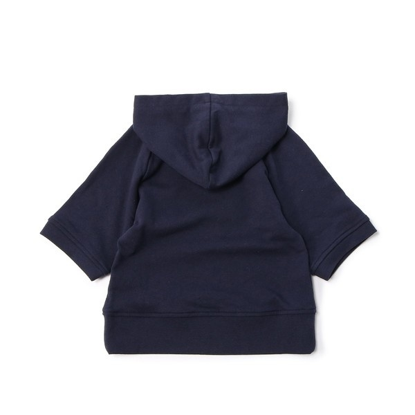 【MPS(150・160cm)】ミニ裏毛5分袖パーカー(ジュニアサイズ150・160cm) キッズ