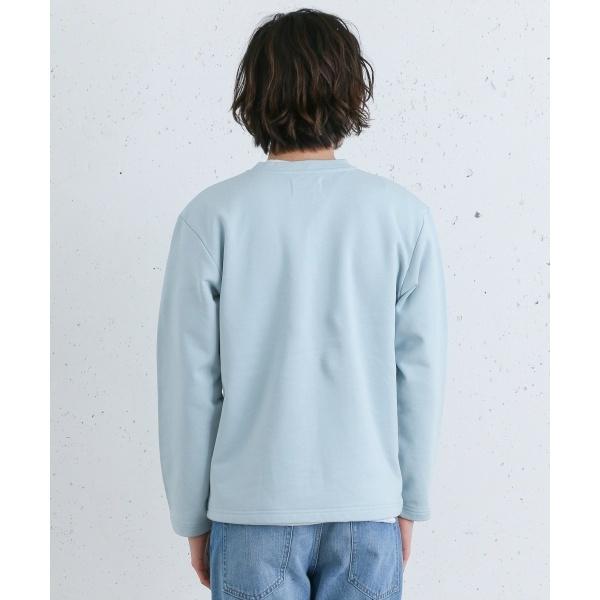 メンズTシャツ(ハーフZIP裏毛プルオーバー)