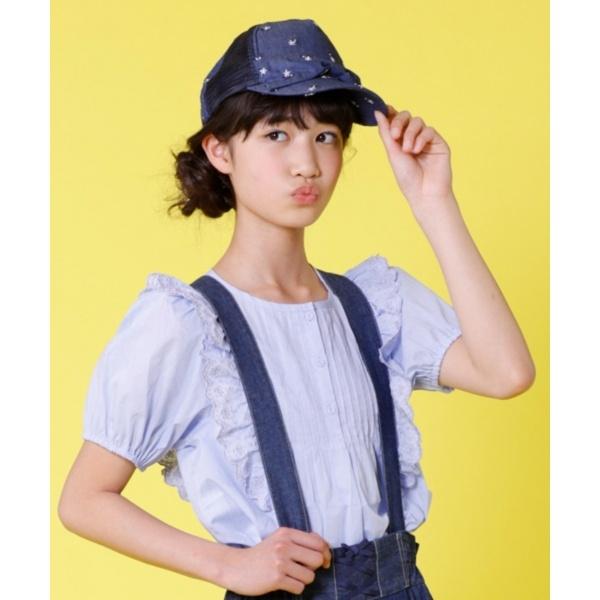 【KIDS雑貨】デニムキャップ