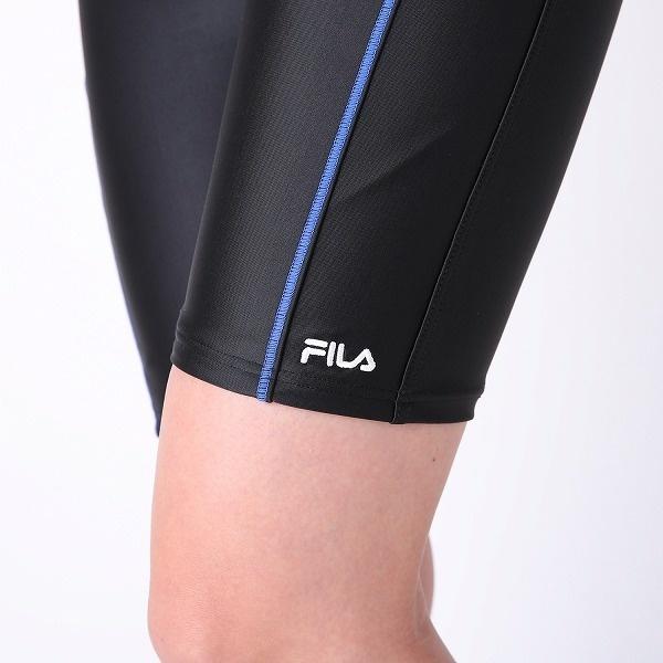 324496ffc2c FILA】ボーダー半袖フルジップセパレート水着   フィラ(FILA ...