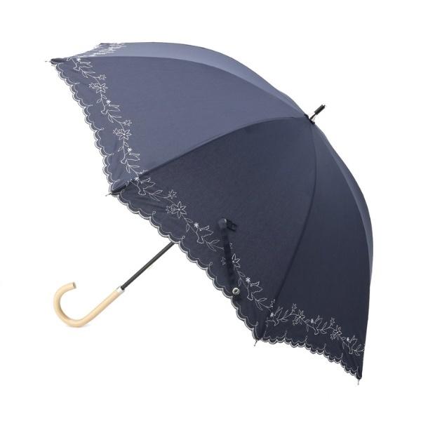 フラワー刺繍パラソル(長傘)