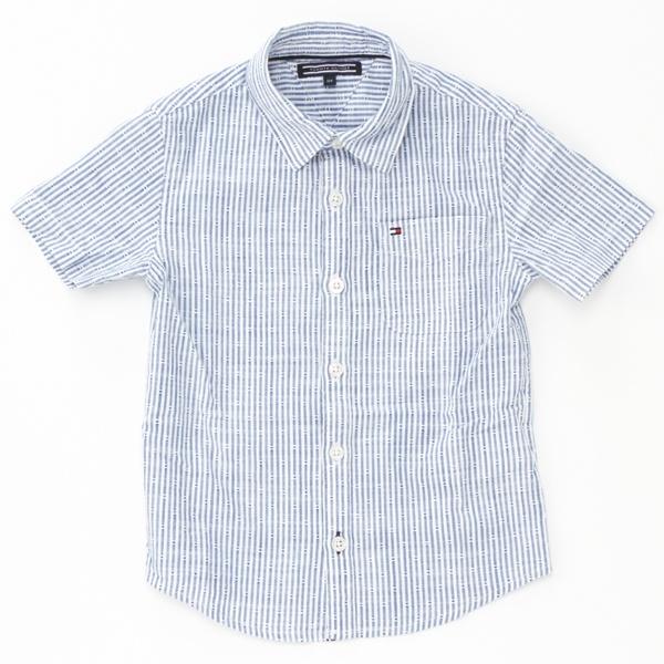 マルイウェブチャネル[マルイ]【セール】コットンスラブドビーシャツ/トミーヒルフィガー(キッズ)(TOMMY)