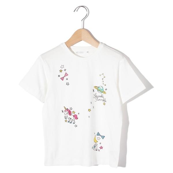 [マルイ]【セール】Tシャツ(蛍光スタープリントTシャツ)/ザ ショップ ティーケー(キッズ)(THE SHOP TK Kids)