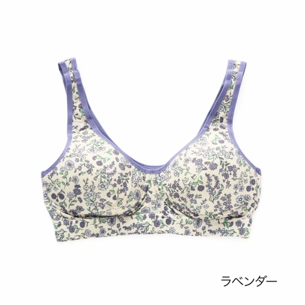 マルイウェブチャネル[マルイ]【セール】kihada 小花柄 ブラジャー/福助(FUKUSKE)