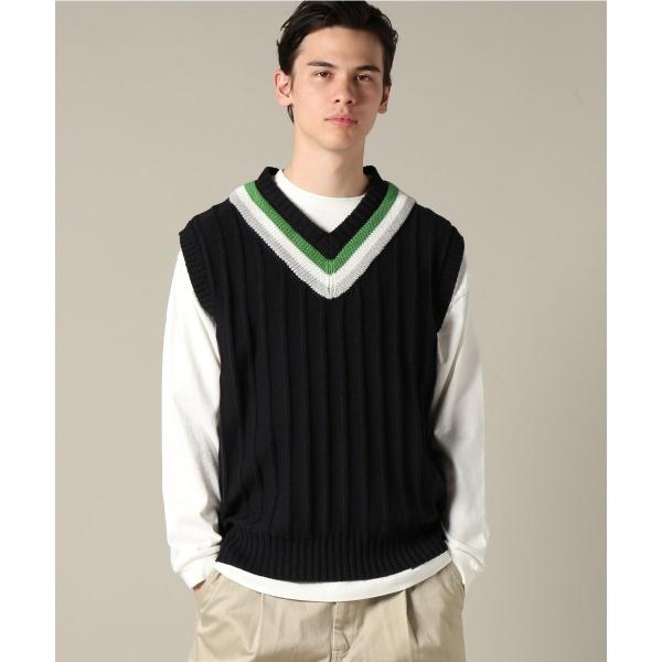 [マルイ]【セール】メンズセーター(KilkeelxJS / キルキール別注 : cricket vest / ベスト)/ジャーナルスタンダード(メンズ)(JOURNAL STANDARD MEN'S)